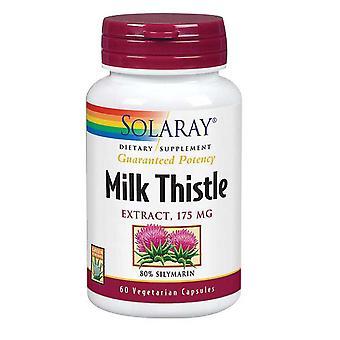 Solaray Mjölk Tistel Frö Extrakt, 175 mg, 120 Kepsar
