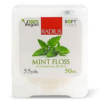 Radius Toothbrushes Floss 55Yrds, Peppermint 1Each (Case of 6)