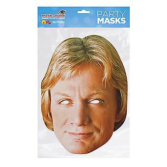 Naamio-arade Claude Francois Julkkikset Party Face Mask