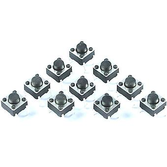 10 x 4-Pin Tactile Switch