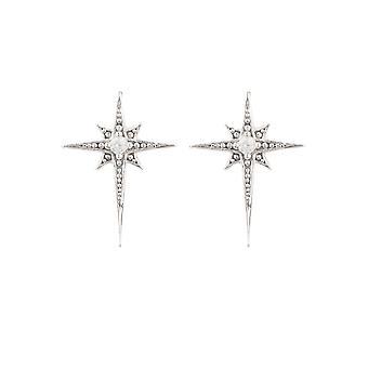Petites mini Silver Star Burst Bridal Jewellery Gift Dainty Stud Boucles d'oreilles