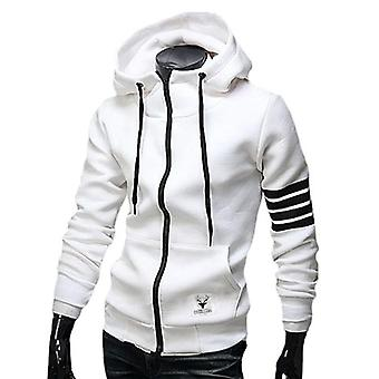 Men's Winter Slim Hoodie Sweatshirt-outwear Jackets