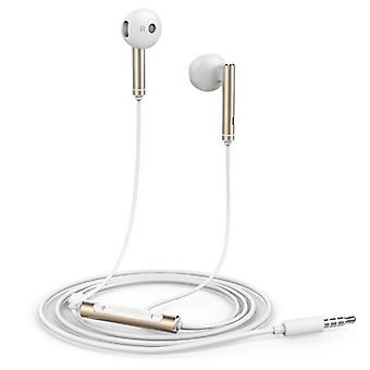 Huawei Honor AM116 Øretelefoner med mikrofon og kontroller - 3,5 mm AUX ørepropper kablet øretelefoner øretelefoner gull