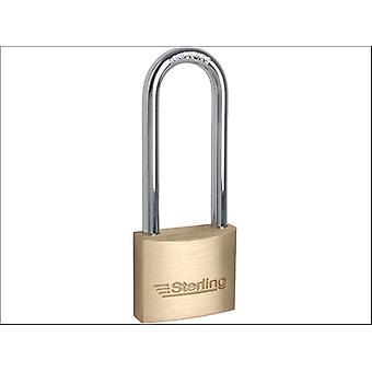 Sterling (Padlocks) Padlock Double Lock Shackle Brass 40mm BPL242
