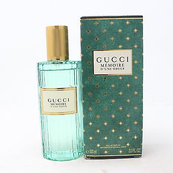 Mémoire D'une Odeur par Gucci Eau De Parfum 3.3oz/100ml Spray New With Box