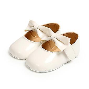 Newborn Baby Anti-slip Bling Crib Pram, Leather Soft Princess Shoes, Sole