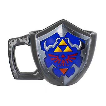 The Legend Of Zelda Hylian Shield Coffee Mug