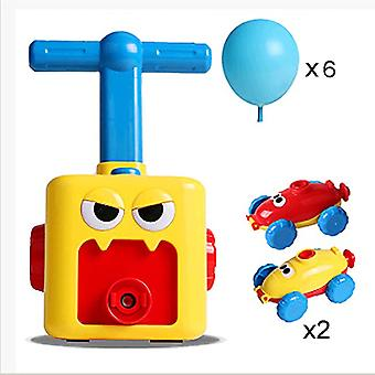 Hot Toy Education Science Power Balloon Car Montessori toys Experiment Toy Fun Inertial Launch Tower Cars Toys for Children Gift