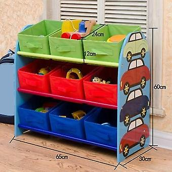 Multi-storey Shelves Toy Box