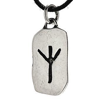 Wisiorek 155 runa algiz - srebro