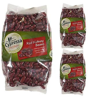 3 x 500g Packet Overnight Soak Red Kidney Beans