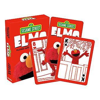 Plaza Sésamo - elmo jugando a las cartas