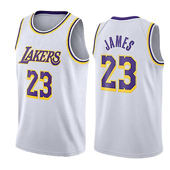 Los Angeles Lakers Lebron James Loose Baschet Jersey Tricouri Sport 3QY017