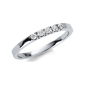 Luna Creation Promessa Ring Multiple Stone Trim 1U493W854-3 - Ring Width: 54