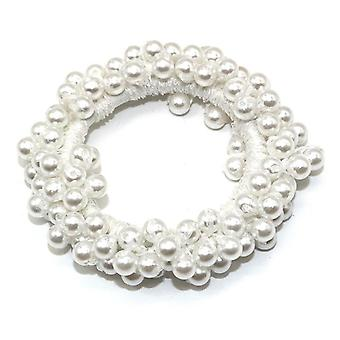 Kvinde Big Pearl Hair Ties Fashion Style Hairband Ponytail Indehavere Rubber Band
