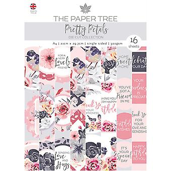 The Paper Tree - Pretty Petals Collection - A4 Die Cut Collection