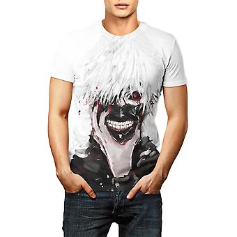 Anime Tokyo Ghoul T-shirt Vêtements Unisex Adultes Childs Casual Fashion