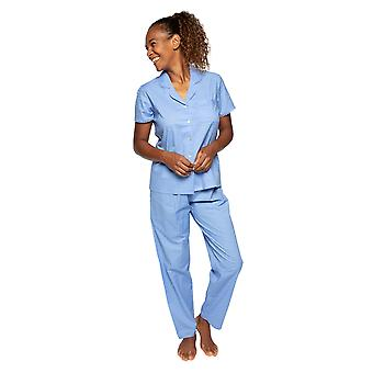 Cyberjammies Nora Rose Elizabeth 1527 Ženy's Modrá skvrnitá bavlněná pyžamová sada