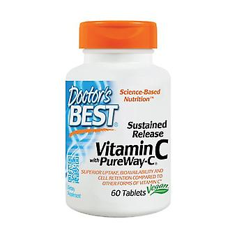 Sustained Release Vitamin C with PureWay-C 60 tablets