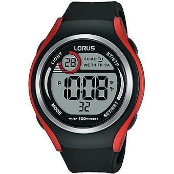 Lorus R2379LX9 Schwarz Silikonarmband Herren's Uhr