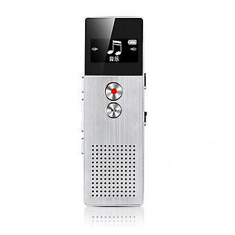 Original c6 digital voice recorder business portable activated audio recorder dictaphone noise reduction with usb support tfcard