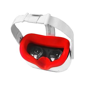 Gomrvr oculus quest 2 protective case silicone vr eye mask skin-friendly anti-slip light leakage protection sleeve