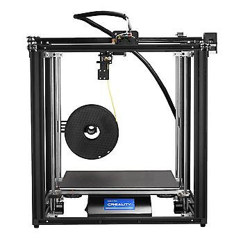 Creality 3d printer ender-5 plus dual y-axis motors glass build plate power off resume printing masks hot sell