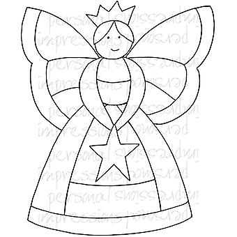 Lindsay Mason Designs Zendoodle Fairy A6 Clear Stamp