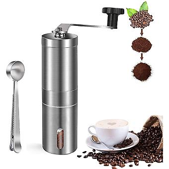O'woda Manual Coffee Grinder with Adjustable Ceramic Conical Burr, Stainless Steel Hand Crank Mill,