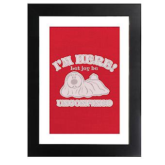 The Magic Roundabout Dougal Let Joy Be Unconfined Framed Print