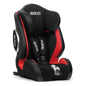 Chaise de voiture Sparco F1000KI Noir/Rouge