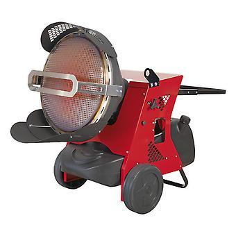 Sealey Ir55 Infrared Paraffin Kerosene And Diesel Heater 42.7/45.5Kw 230V