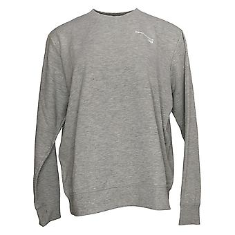 New Balance Women's Top Crewneck French Terry Knit Gray A387042
