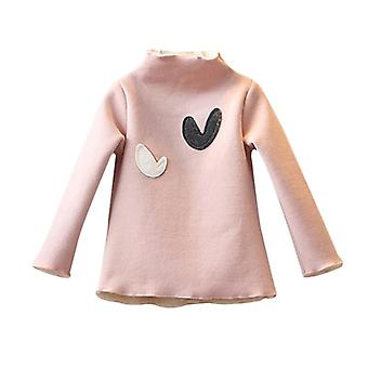 Winter Baby Long-sleeved O-necked Love T-shirt