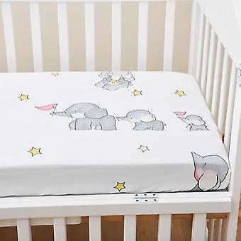 Crib Sheets For Baby, Mattress Bedding Sets, Breathable And Hypoallergenic,