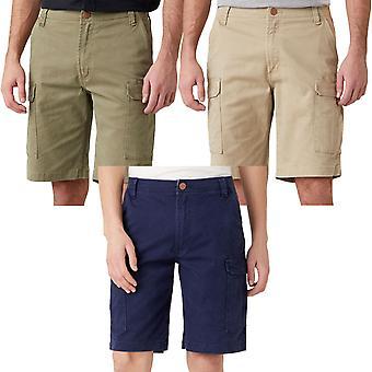 Wrangler Mens Casey Summer Denim Regular Fit Cargo Broek Shorts Shorts