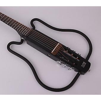 Akustisk hovedløs foldbar elektrisk guitar