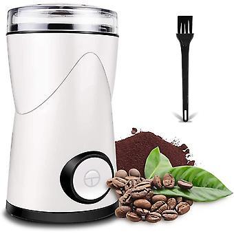 Kaffeemhle Elektrische, 150W Kaffeemhle mit 70g Fassungsvermgen,Edelstahlmesser, Pinsel, Mhle fr