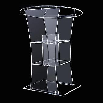 Led Bar Speaker Prædikestol Podium Table & Clear Rostrum