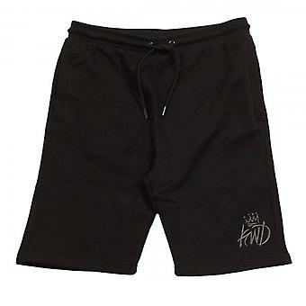 Kings Will Dream Crosby Black/Grey Shorts