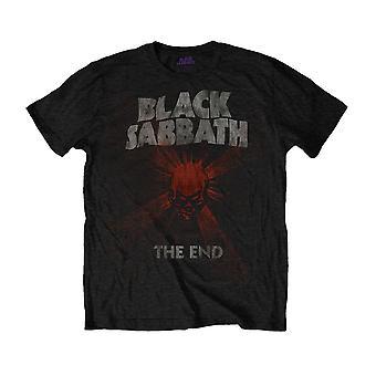 Men's Black Sabbath The End Skull Shine Crew Neck T-Shirt