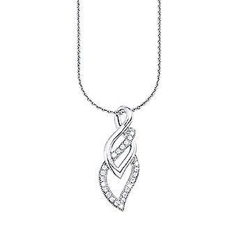 Amor Donna 925 silver Rund vit Kubisk Zirconia
