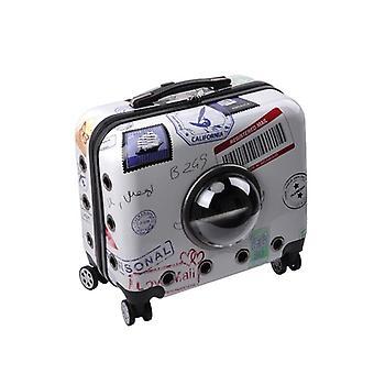 Lemmikki matkalaukku monitoiminen kannettava 16 tuumaa muoti