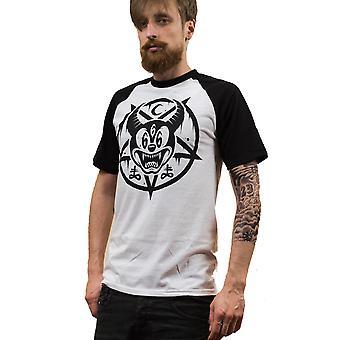Darkside - MICKEY 666 - Heren Honkbal T-Shirt