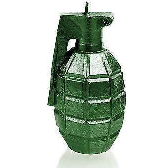 Vihreä metallinen suuri kranaattikynttilä