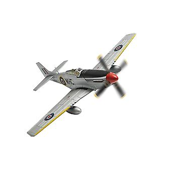 Nordamerikansk Mustang Mk.IV KH790/WHC Werner Christie No.150 Wing RAF Hunsdon Våren 1945 1:72 Corgi Modell