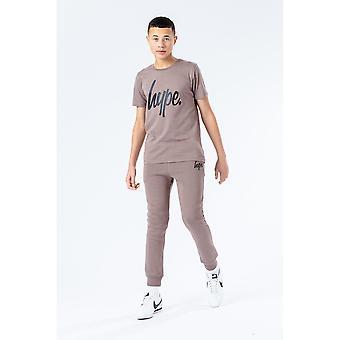 Hype Childrens/Kids Falcon Script T-Shirt