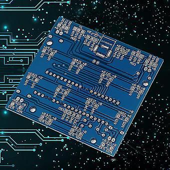 耐久性のある 4*4*4 3D Led ライト スクエア ブルー レイ Led キューブ DIY Pcb ボード キット セット