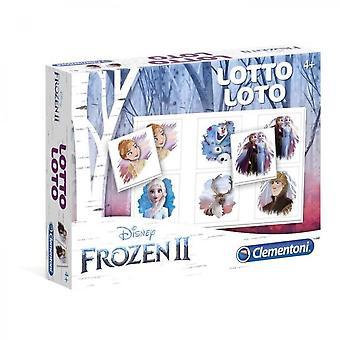 Clementoni Lotto Spiel - The Frozen 2 - Lernspiel