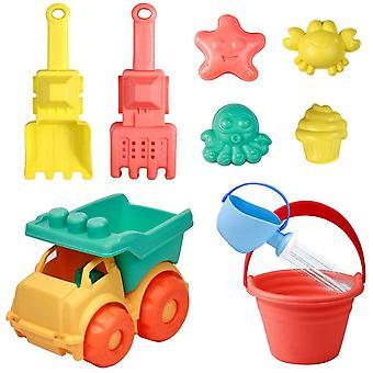 Sandspielzeug Kinder Wasserspielzeug Spiele Strandspielzeug Kinderspielzeug Outdoor 9 Stück mit